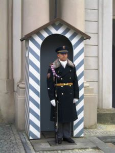Best things to do in Prague with kids - Castle guard