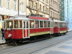 Best things to do in Prague with kids, vintage tram