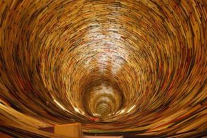 Best things to do in Prague with kids, Book Tunnel in the Municipal Library of Prague