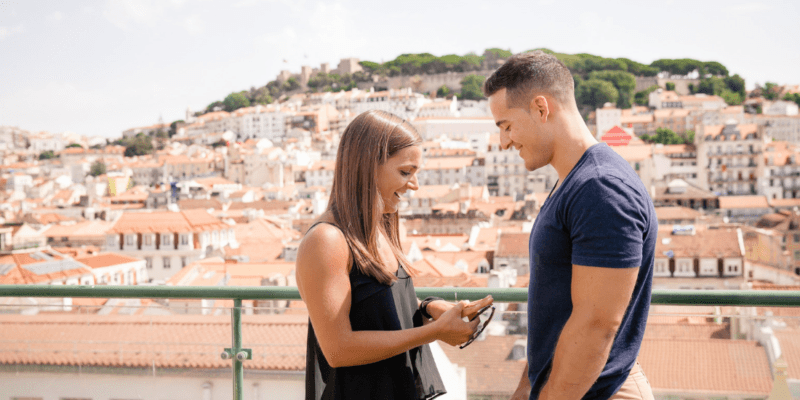 Proposal Photo Shoot in Lisbon