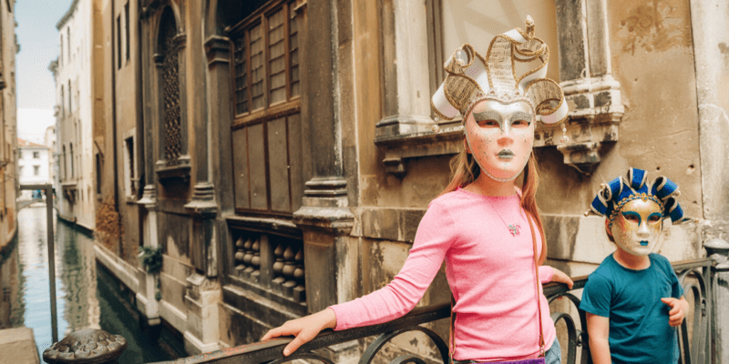 Traveling with Kids to Venice