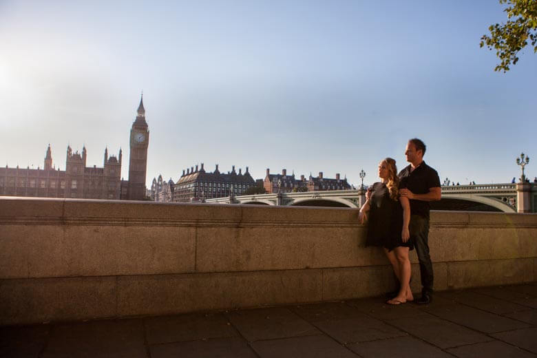 Vacation photographer in London