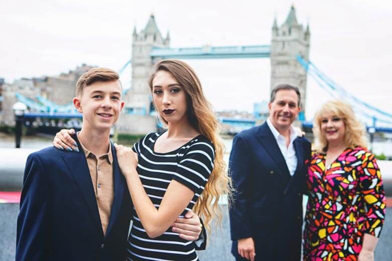 family vacation photographer in London