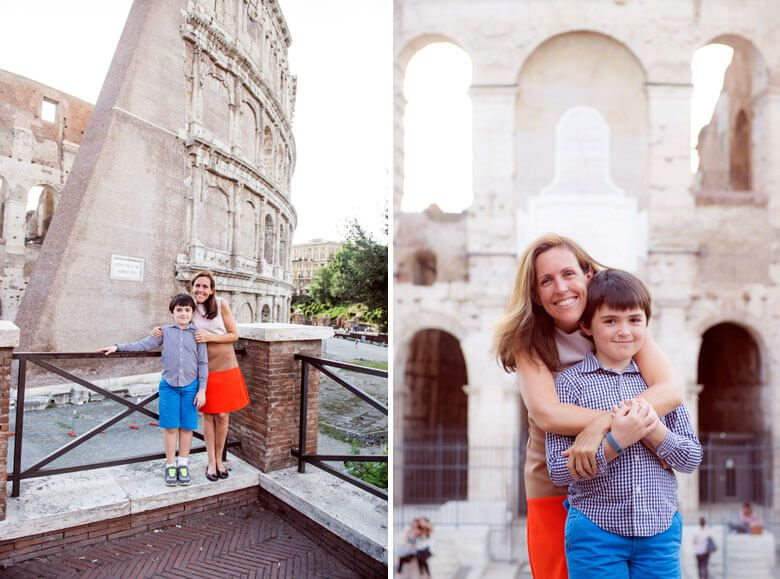 family vacation photographer in Rome