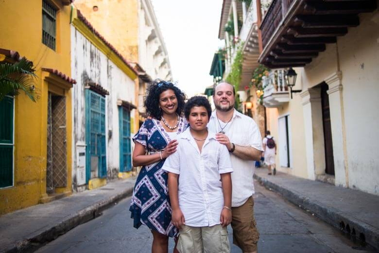 Vacation photographer in Cartagena