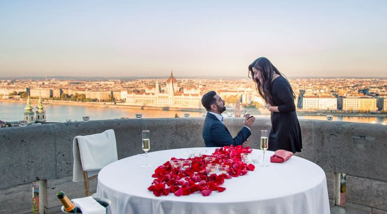 secret proposal in Budapest