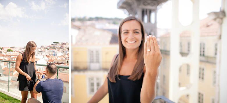 secret proposal in Lisbon