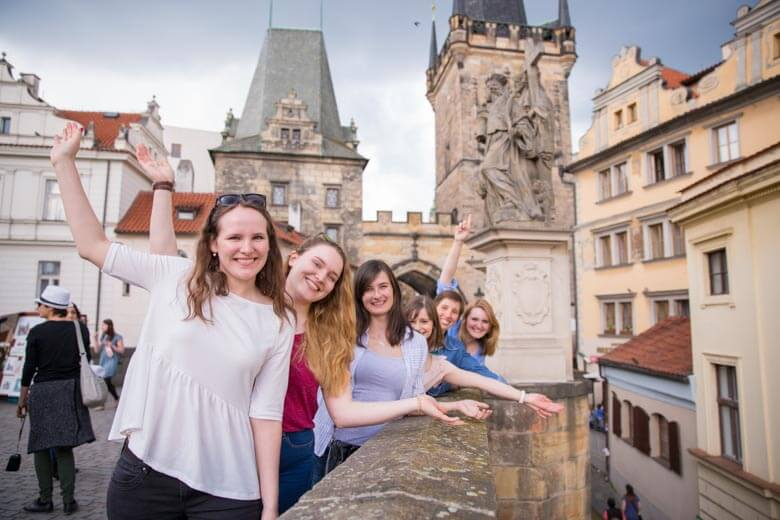 Bachelorette Photo Shoot in Prague