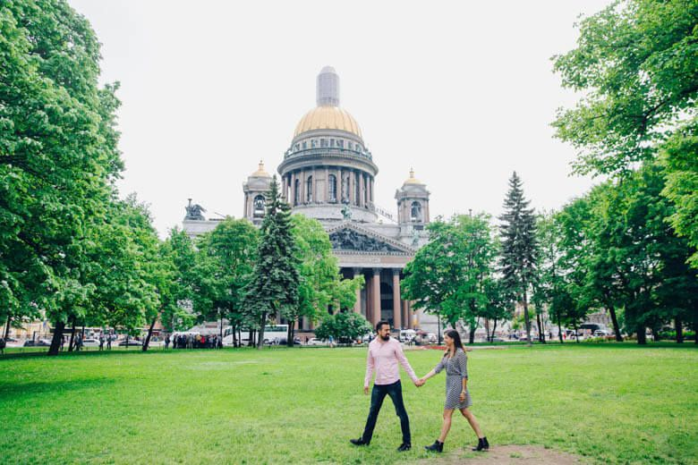 Surprise Proposal Shoot in St Petersburg