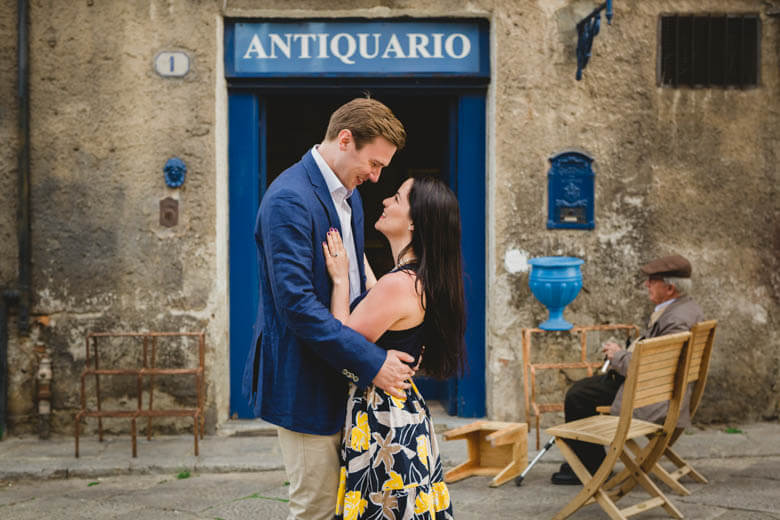 engagement photographer in Palermo, Sicily