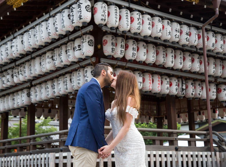 honeymoon photographer in Kyoto