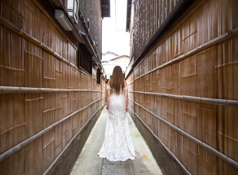 bridal photographer in Kyoto