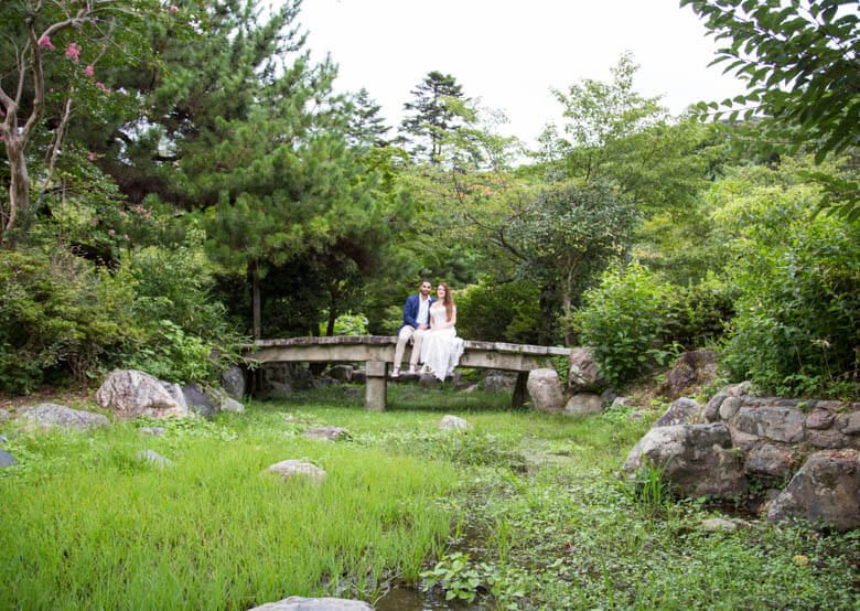 bridal photoshoot in Kyoto
