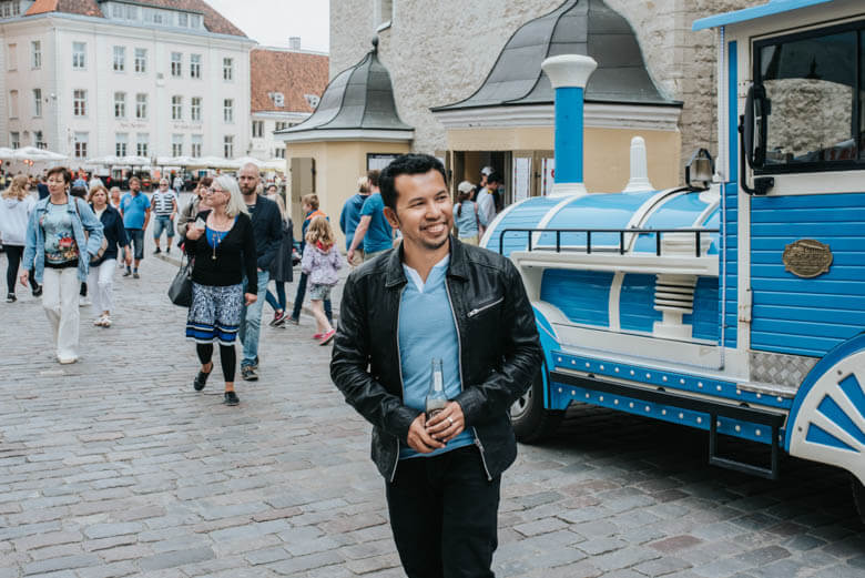 vacation photographer in Tallinn, Estonia