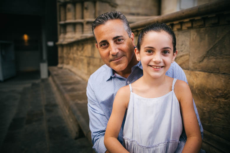 family photographer in Florence, Italy