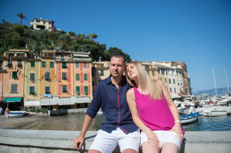vacation photographer in Portofino, Italy