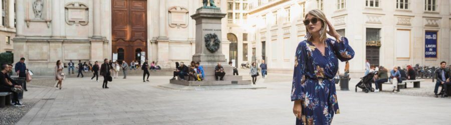 Vacation photographer in Milan, Italy