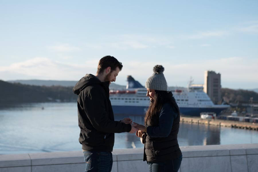 proposal photographer in Oslo, Norway