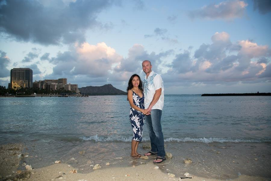couple photographer in Honolulu, Hawaii