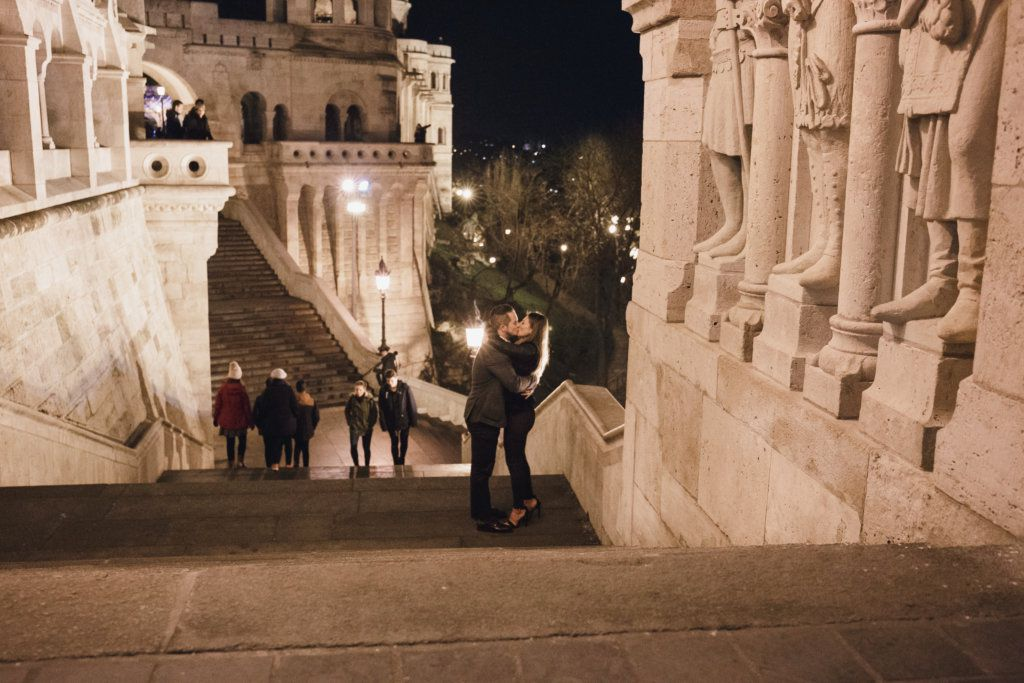 Secret Proposal Photoshoot in Budapest