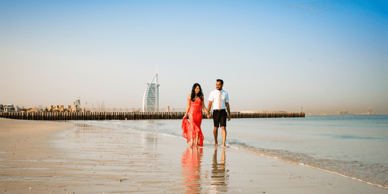 Honeymoon Photographer in Dubai