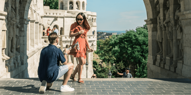 Proposal Photo Shoot in Budapest