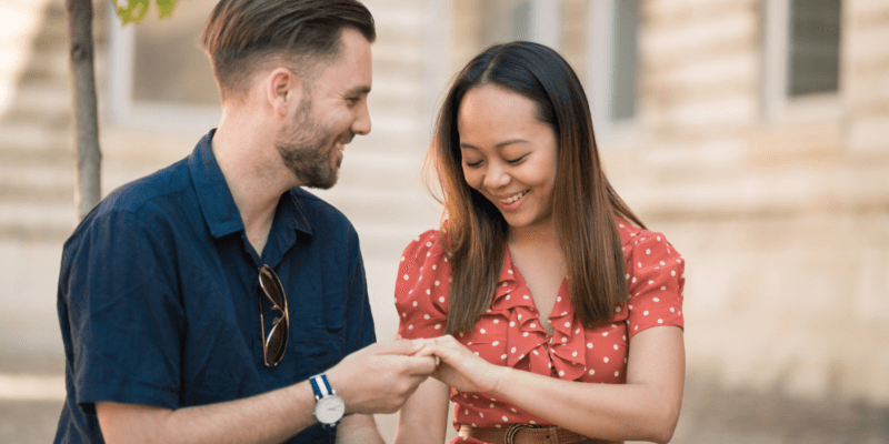 Surprise Proposal Photo Shoot in Budapest