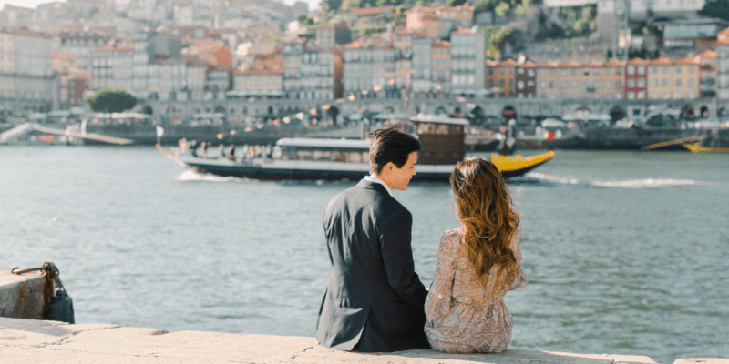 Secret Proposal Photoshoot in Porto