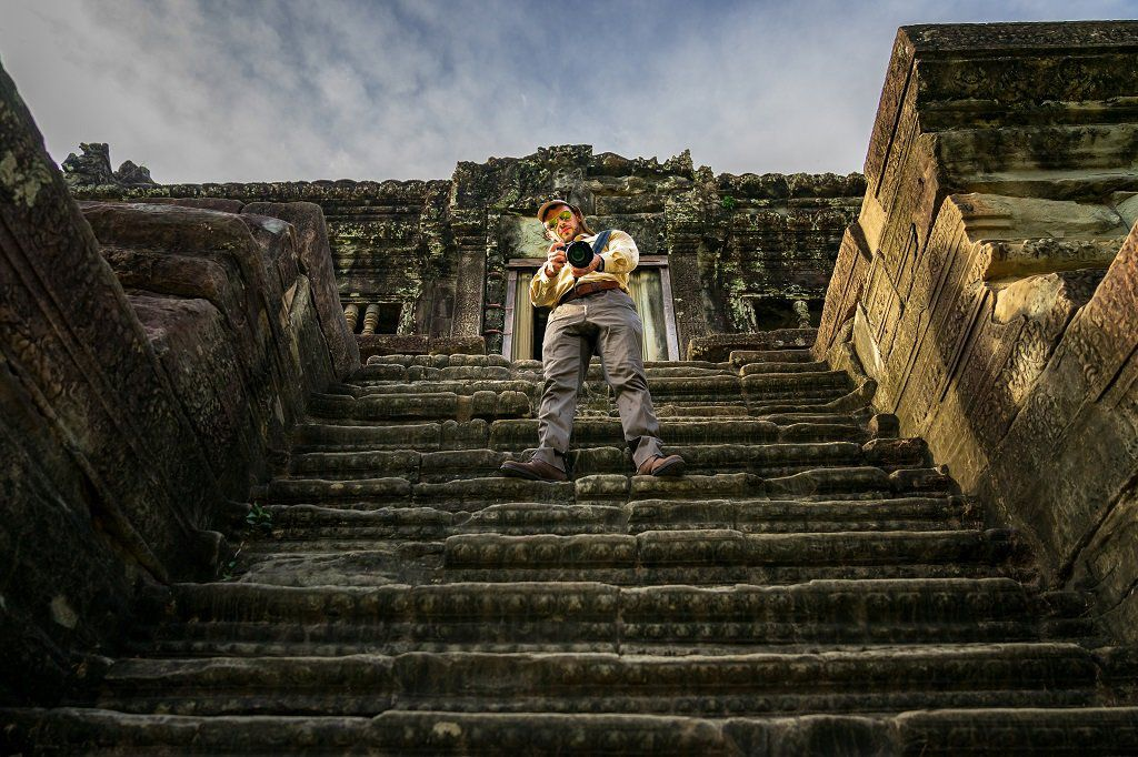 Photographer in Siem Reap