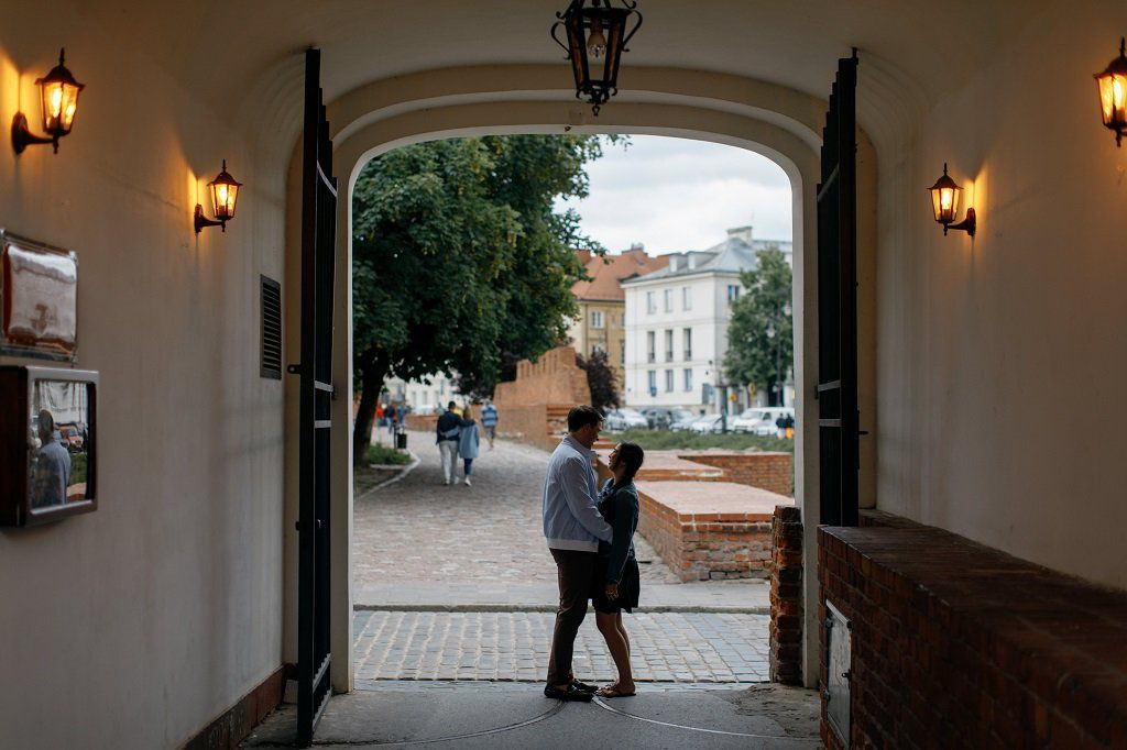 Couple Photoshoot in Warsaw