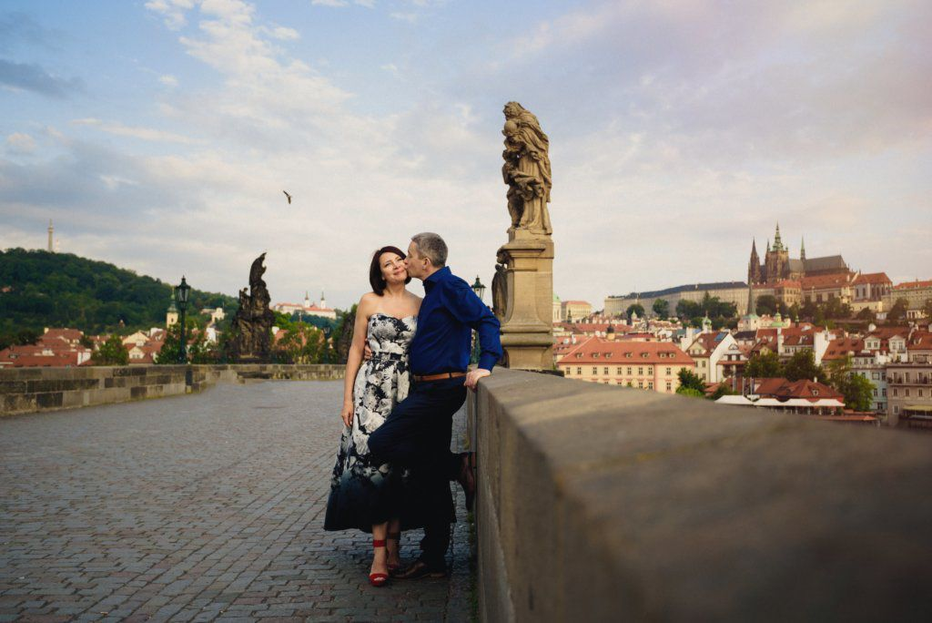 Anniversary Photo Shoot in Prague