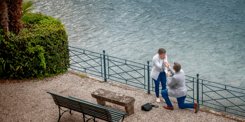 Engagement Photographer Lake Como