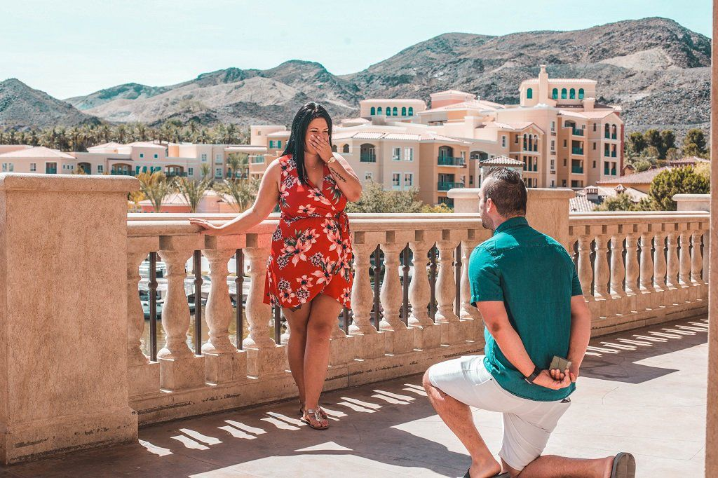 Proposal Photo Shoot in Las Vegas