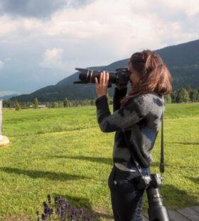 Photographer in Rovereto