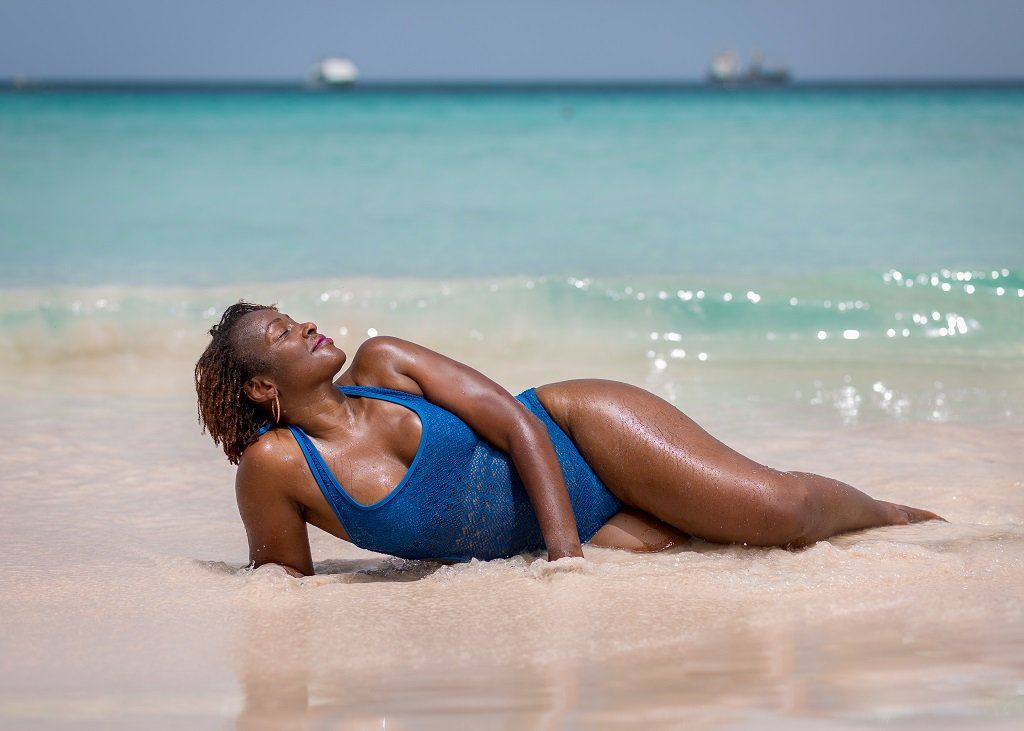 Beach Photoshoot in Barbados