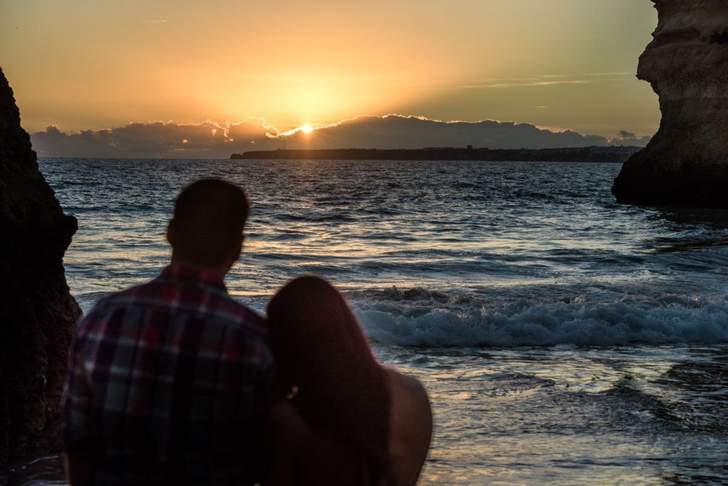 Sunset Proposal Photo Shoot in Portimão