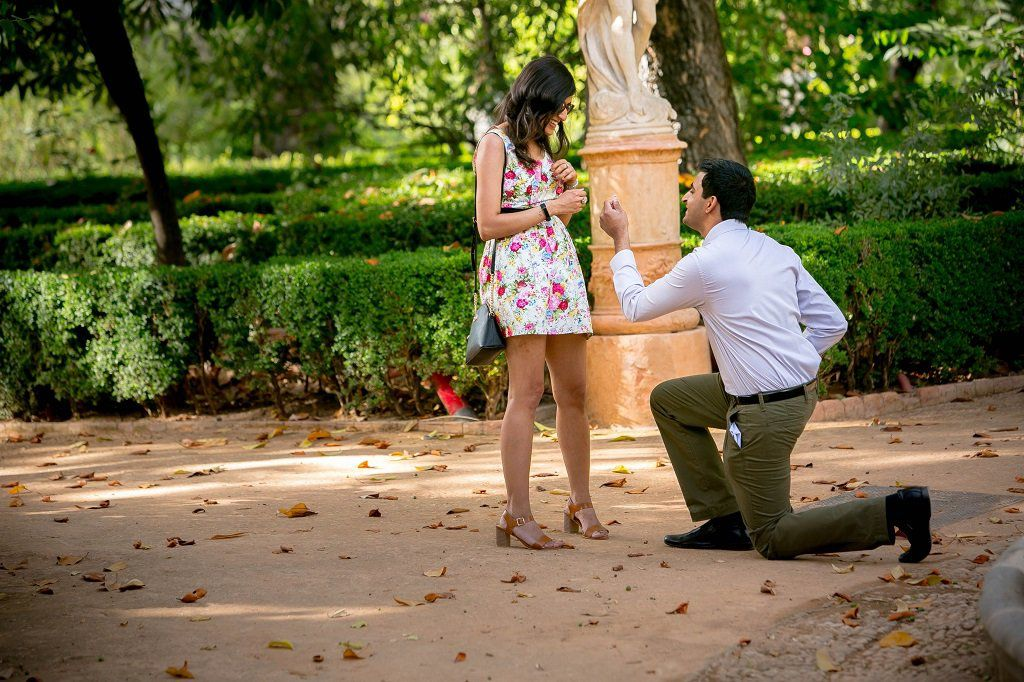Proposal photoshoot in Granada