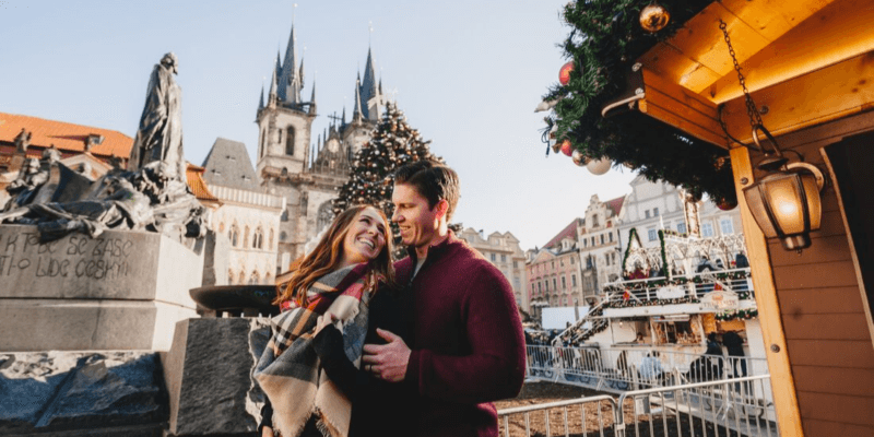 Honeymoon Photoshoot in Prague