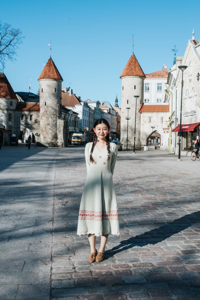 Photographer in Tallinn