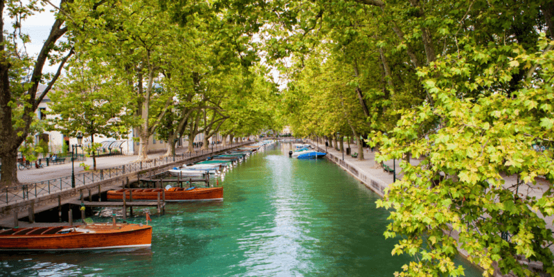Romantic Summer in Annecy, France