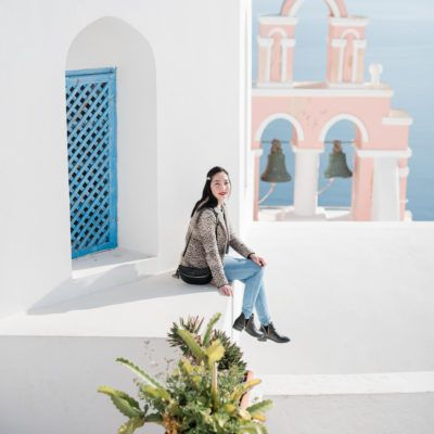 Professional vacation Photographer in Santorini