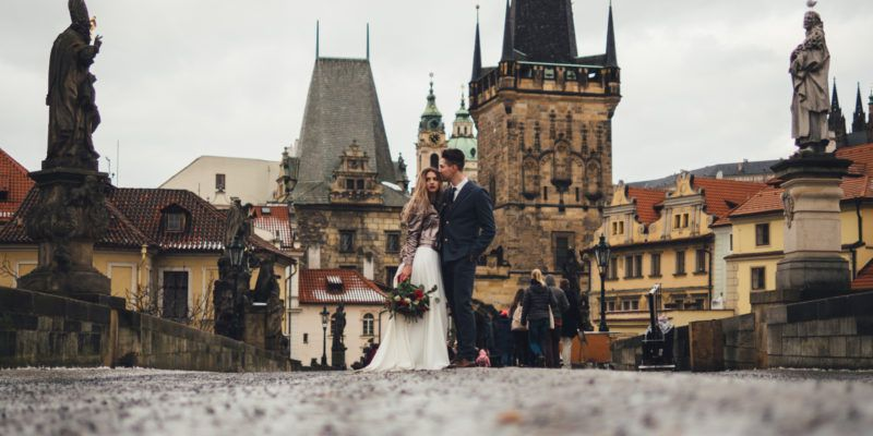 Bridal Photo Shoot Spot in Prague
