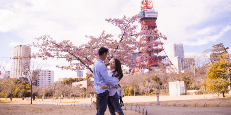 Couple Vacation Photographer in Tokyo