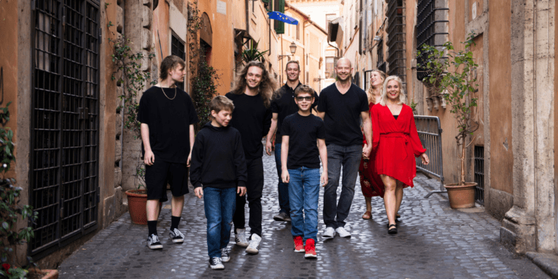 Local Family Photographer in Italy