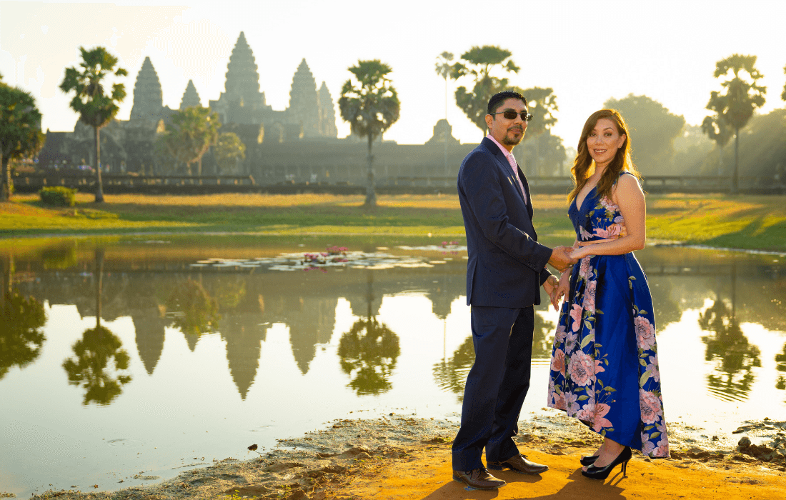 Honeymoon Photographer in Cambodia