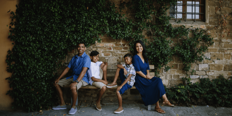 Family Holiday Photoshoot Ideas