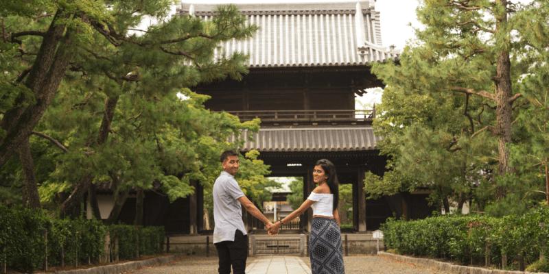 Romantic Honeymoon Photo Shoot Spots in Kyoto