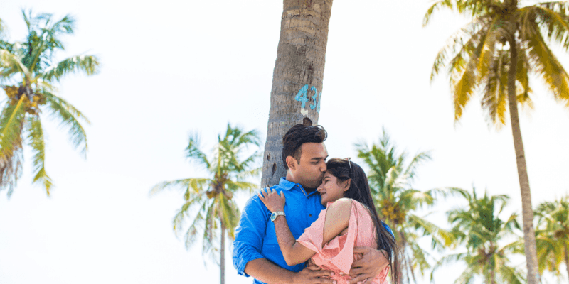 Anniversary Photoshoot Session in Maldives