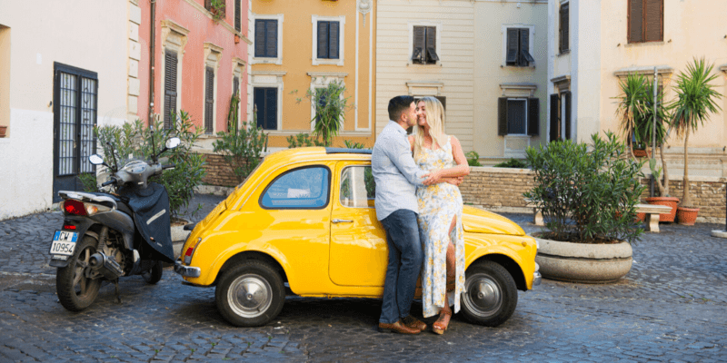 How to Hire a Surprise Engagement Photographer in Rome