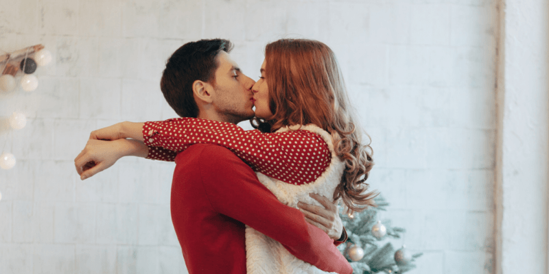 Couple Christmas Photoshoot